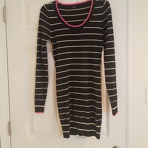 Stretch sweater dress size small to medium